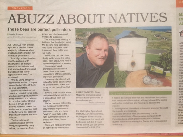 Abuzz about Natives article